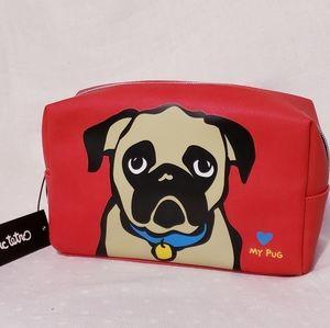Marc Tetro Pugalicious Jumbo Cosmetic Bag